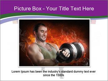 Muscular businessman PowerPoint Template - Slide 15