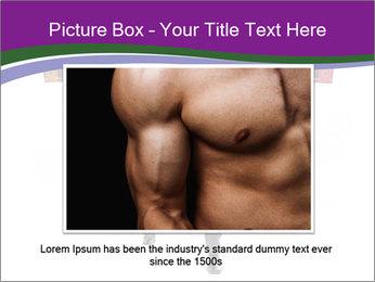 Muscular businessman PowerPoint Template - Slide 16