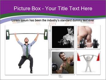 Muscular businessman PowerPoint Template - Slide 19
