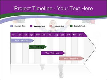 Muscular businessman PowerPoint Template - Slide 25