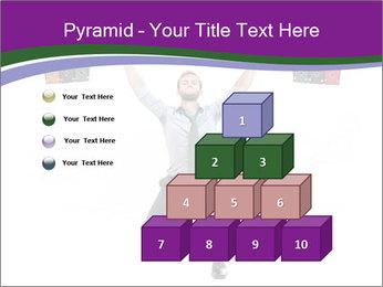 Muscular businessman PowerPoint Template - Slide 31