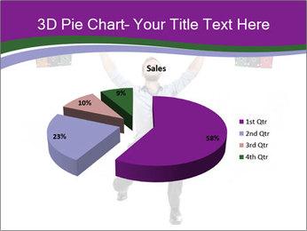 Muscular businessman PowerPoint Template - Slide 35