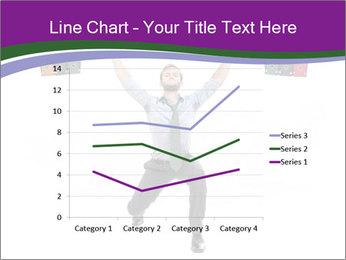Muscular businessman PowerPoint Template - Slide 54