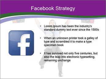 Muscular businessman PowerPoint Template - Slide 6