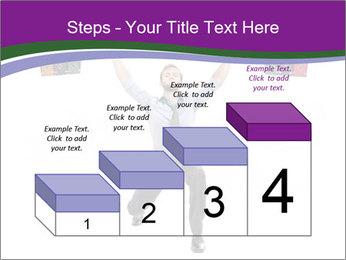 Muscular businessman PowerPoint Template - Slide 64