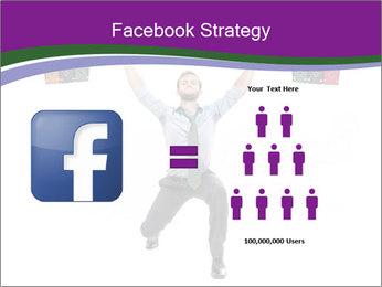 Muscular businessman PowerPoint Template - Slide 7