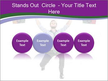 Muscular businessman PowerPoint Template - Slide 76