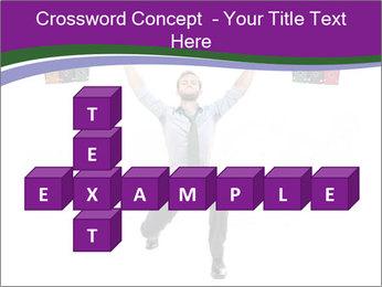 Muscular businessman PowerPoint Template - Slide 82