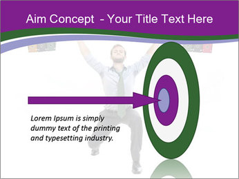 Muscular businessman PowerPoint Template - Slide 83