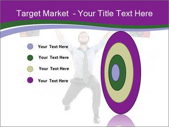Muscular businessman PowerPoint Template - Slide 84