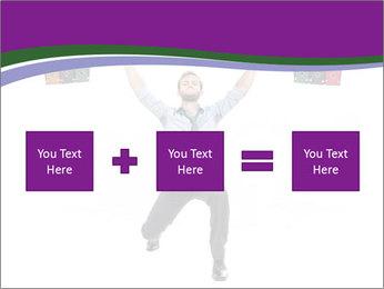Muscular businessman PowerPoint Template - Slide 95