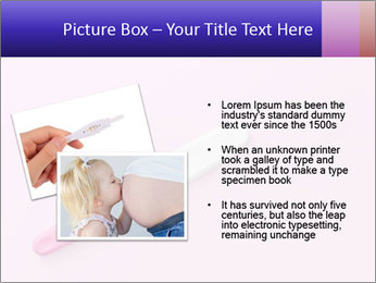 Girl pregnancy test PowerPoint Template - Slide 20