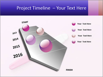 Girl pregnancy test PowerPoint Template - Slide 26