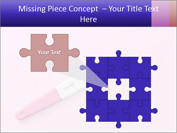 Girl pregnancy test PowerPoint Template - Slide 45