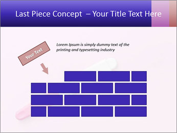 Girl pregnancy test PowerPoint Template - Slide 46