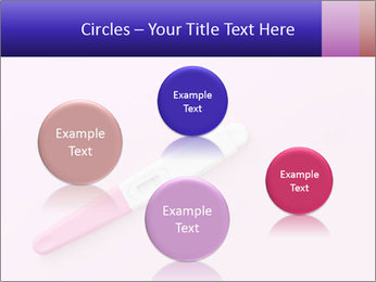 Girl pregnancy test PowerPoint Templates - Slide 77