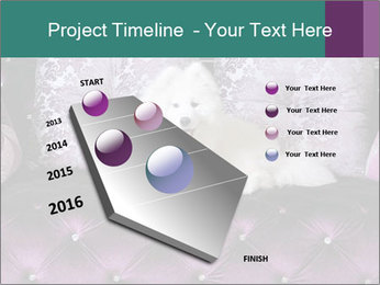 Samoyed dog PowerPoint Template - Slide 26