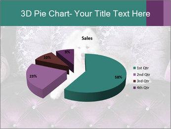 Samoyed dog PowerPoint Template - Slide 35