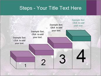 Samoyed dog PowerPoint Template - Slide 64