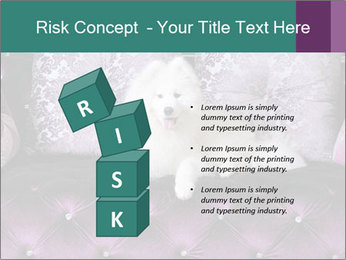 Samoyed dog PowerPoint Templates - Slide 81
