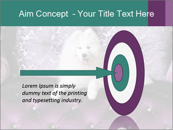Samoyed dog PowerPoint Templates - Slide 83