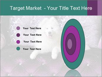 Samoyed dog PowerPoint Template - Slide 84