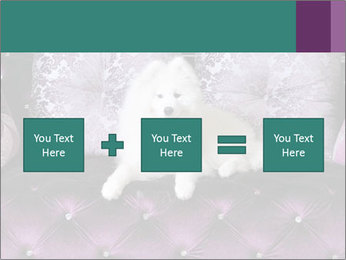 Samoyed dog PowerPoint Templates - Slide 95