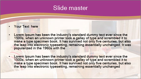 Interiors PowerPoint Template - Slide 2