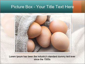 Eggs PowerPoint Template - Slide 16