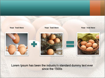 Eggs PowerPoint Template - Slide 22
