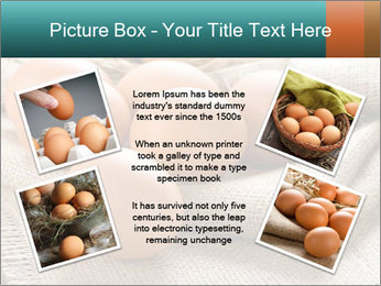 Eggs PowerPoint Template - Slide 24