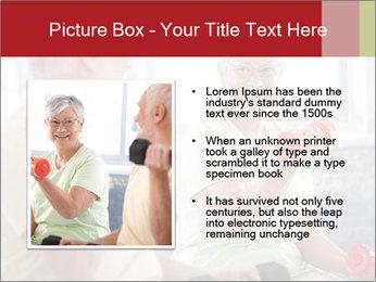 Vital senior couple PowerPoint Template - Slide 13