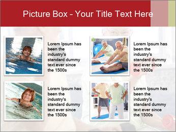 Vital senior couple PowerPoint Template - Slide 14