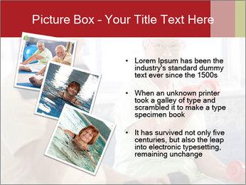 Vital senior couple PowerPoint Template - Slide 17