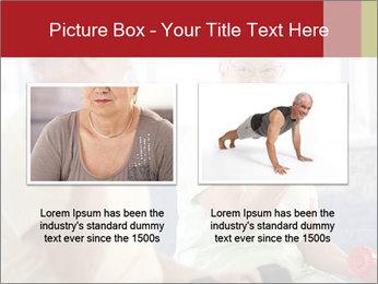 Vital senior couple PowerPoint Template - Slide 18