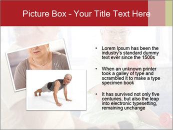 Vital senior couple PowerPoint Template - Slide 20