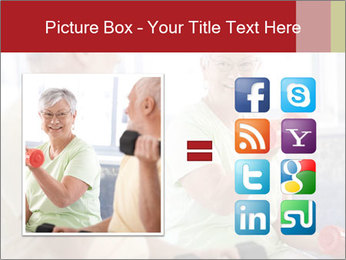 Vital senior couple PowerPoint Template - Slide 21