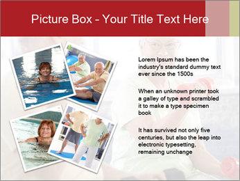 Vital senior couple PowerPoint Template - Slide 23