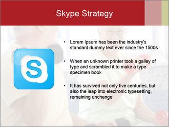 Vital senior couple PowerPoint Template - Slide 8