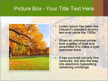 Autumn Landscape PowerPoint Template - Slide 13