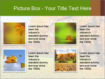 Autumn Landscape PowerPoint Template - Slide 14