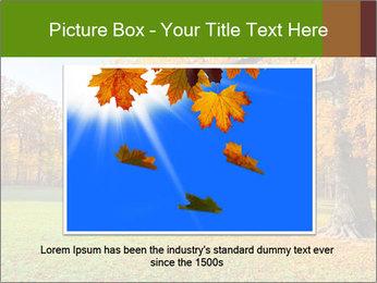 Autumn Landscape PowerPoint Template - Slide 15