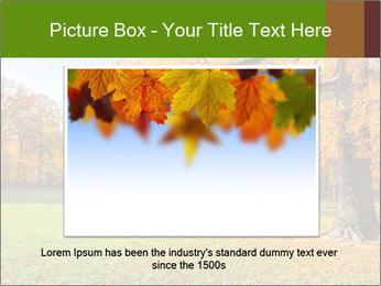Autumn Landscape PowerPoint Templates - Slide 16