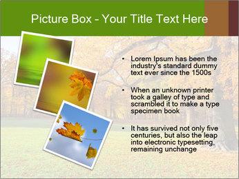 Autumn Landscape PowerPoint Template - Slide 17