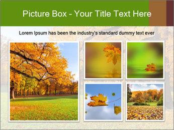 Autumn Landscape PowerPoint Templates - Slide 19