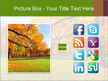 Autumn Landscape PowerPoint Template - Slide 21