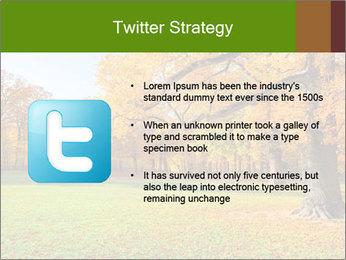 Autumn Landscape PowerPoint Template - Slide 9