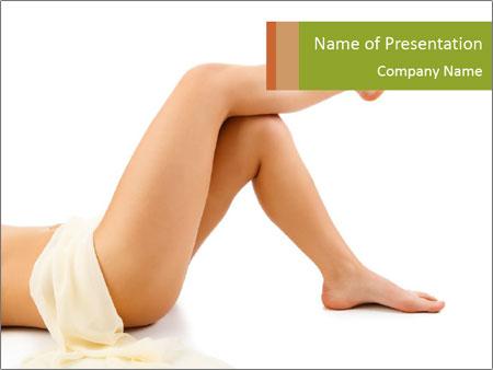Beautiful legs PowerPoint Templates