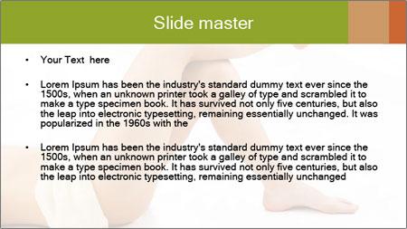 Beautiful legs PowerPoint Template - Slide 2