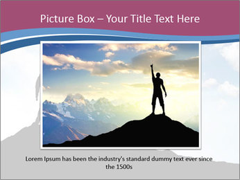 Silhouette of team PowerPoint Template - Slide 15